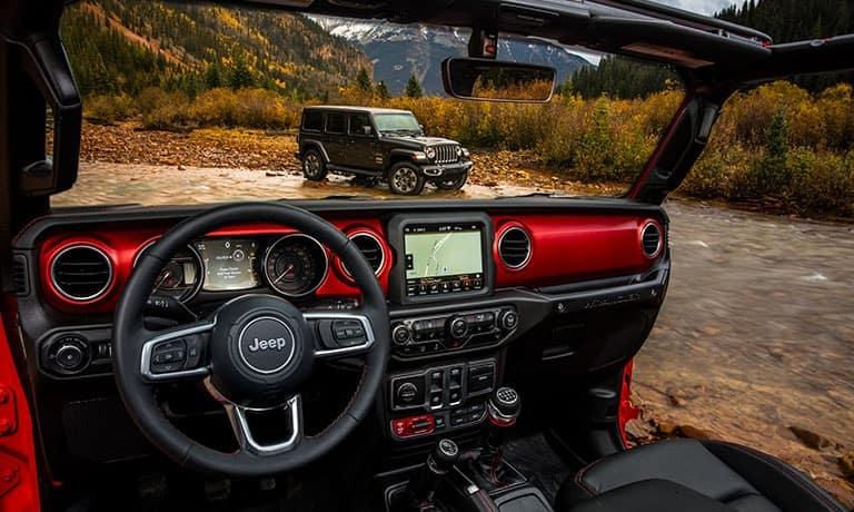 2019 Jeep Wrangler JL Sahara interior dashboard