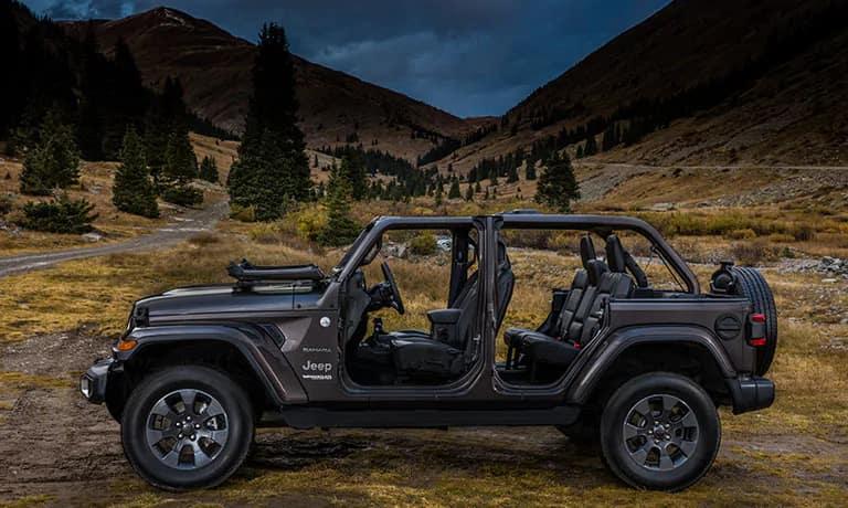 2019 Jeep Wrangler JL Sahara side exterior view