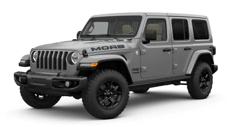 2019 Jeep Wrangler MOAB in Silver
