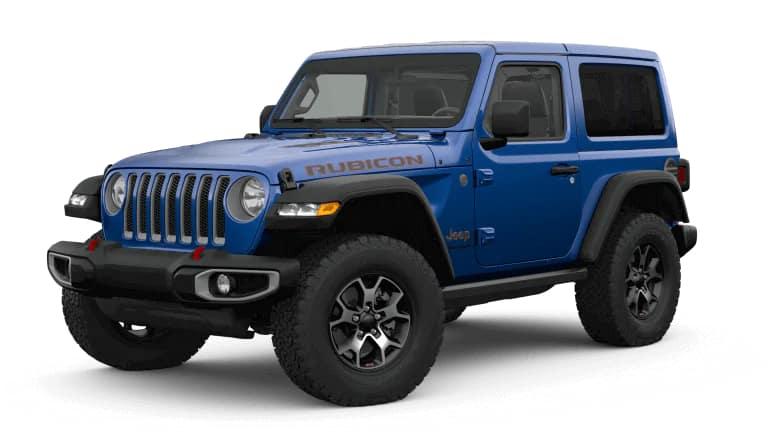 2019 Jeep Wrangler Rubicon in Blue