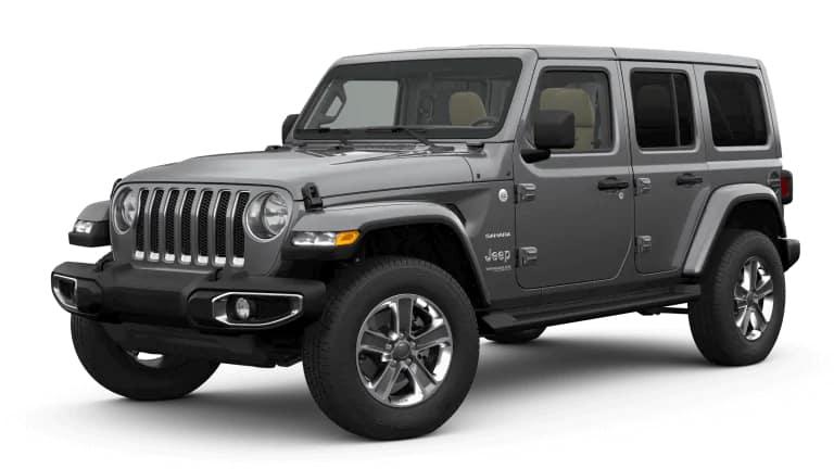2019 Jeep Wrangler in Silver