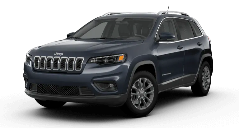2020 Jeep Cherokee in navy