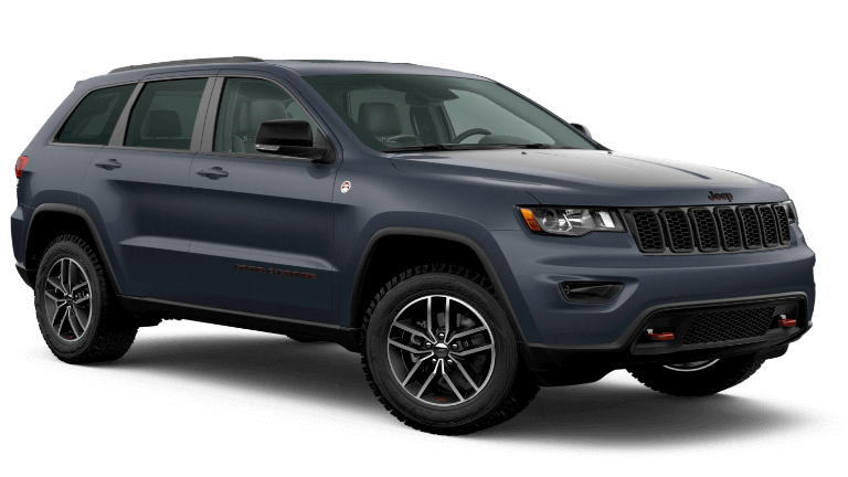 2020 Jeep Grand Cherokee Trailhawk in navy blue