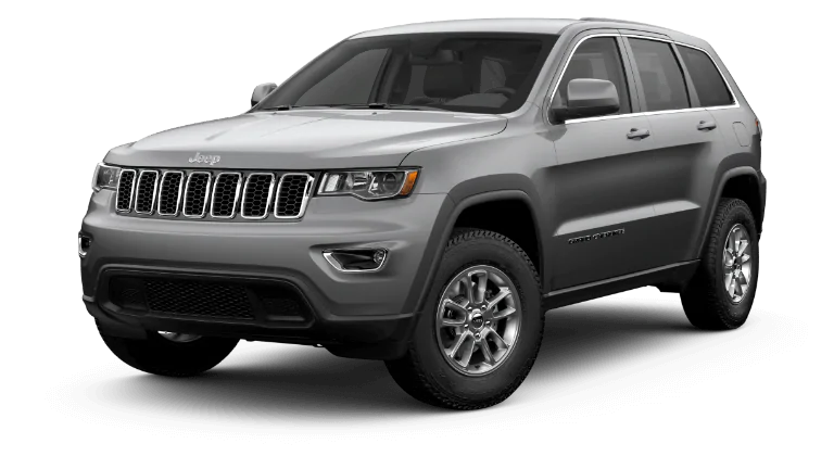 2020 Jeep Grand Cherokee in silver