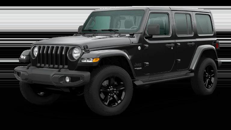 2020 Jeep Wrangler Sahara Altitude in Black