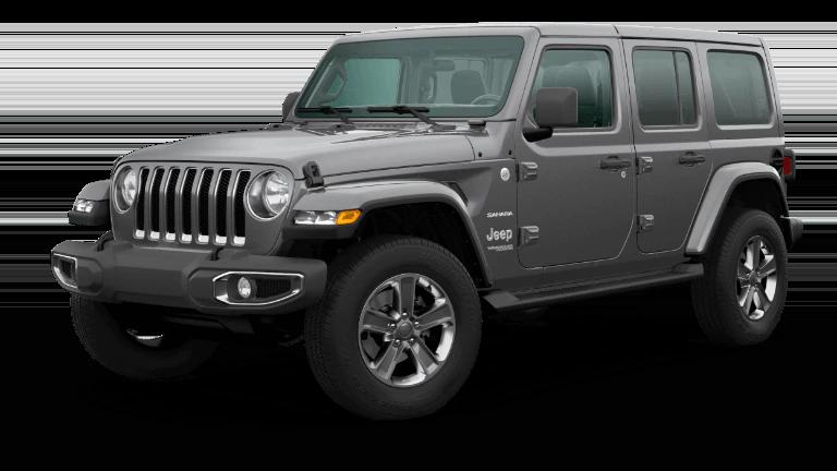 2020 Jeep Wrangler Sahara in Granite