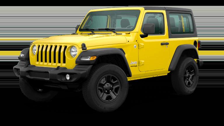 2020 Jeep Wrangler-Sport in Hellayella