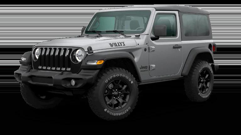 2020 Jeep Wrangler Willys in Billet Silver