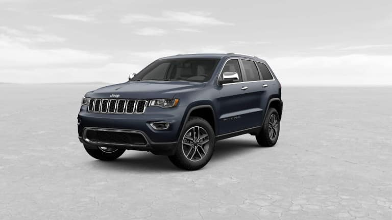 2019 Grand Cherokee Limited blue