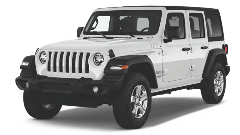 2019 Jeep Wrangler Unlimited Sport White