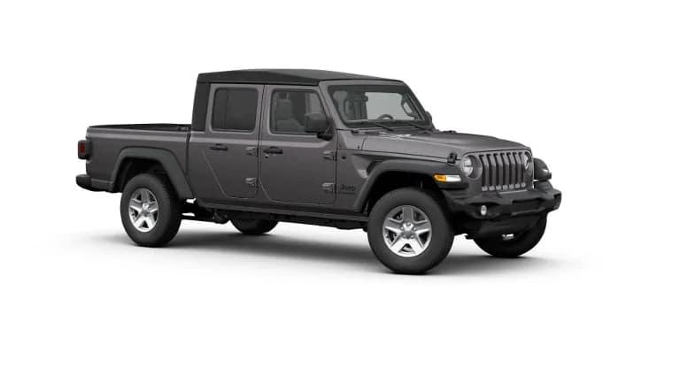 Grey 2020 Jeep Gladiator Sport S