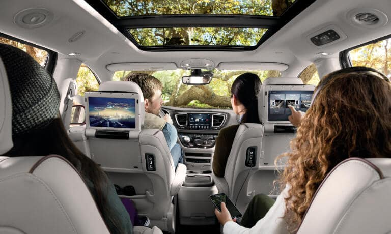 Interior of 2019 Chrysler Pacifica