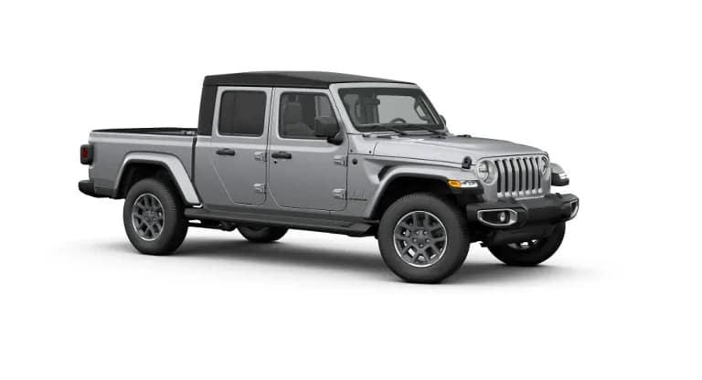 Silver 2020 Jeep Gladiator Overland