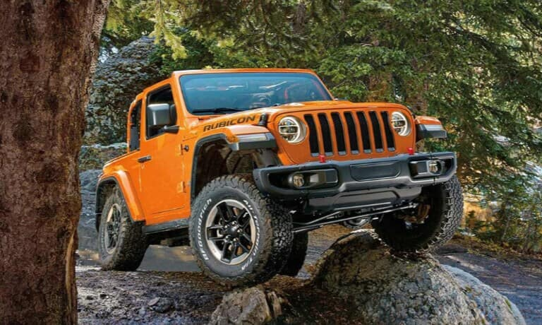 2019 Jeep Wrangler External Off Road In Forest