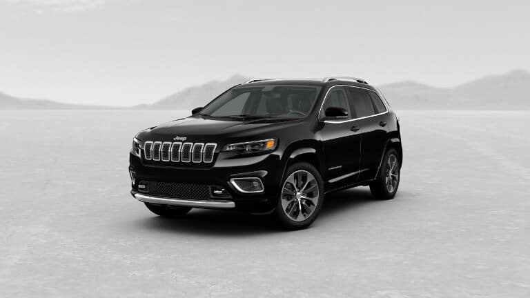 Black 2019 Jeep Cherokee Overland