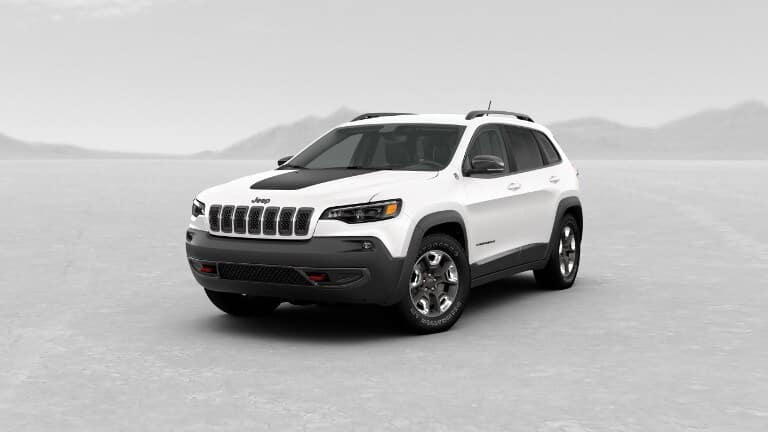 White 2019 Jeep Cherokee Trailhawk Elite