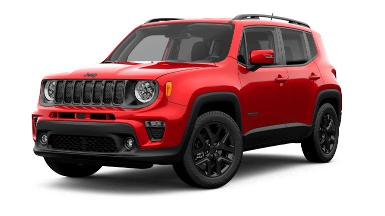 2019 Jeep Renegade Altitude Red