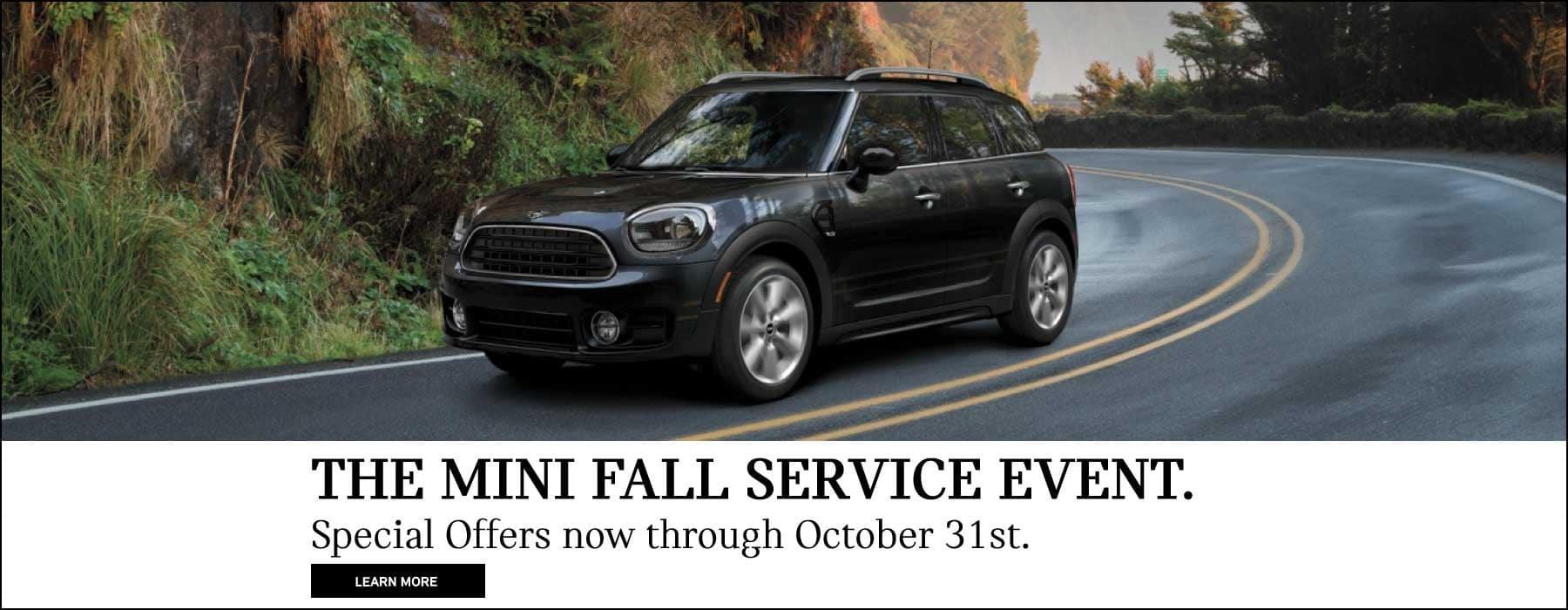 MINI Fall Service Event
