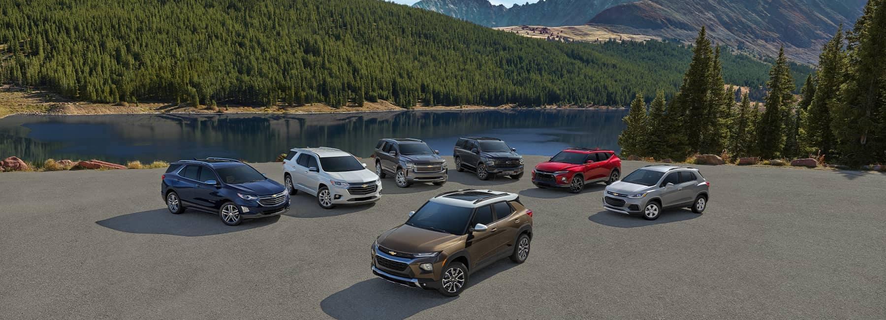 2020 Chevrolet SUV Lineup