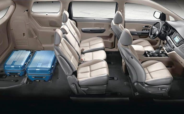 What Are The Interior Features Of The Kia Sedona Minivan