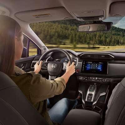 2018 Honda Clarity interior