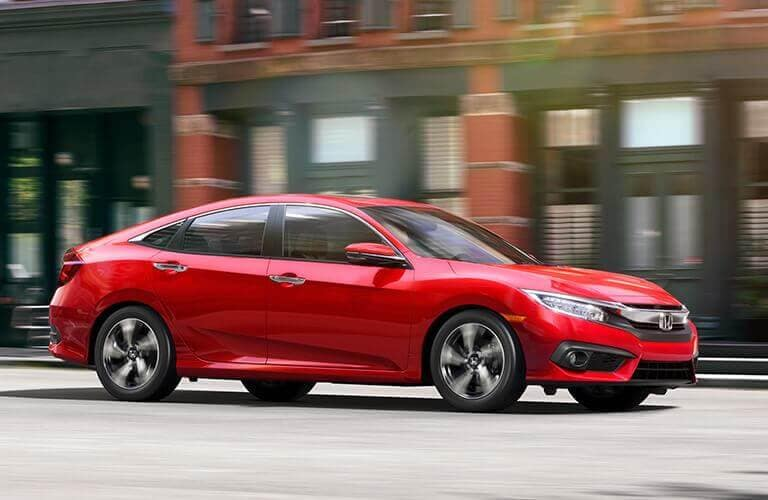 2018 Civic Model Trim Comparison
