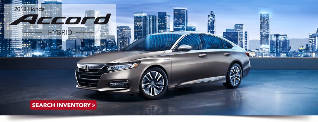 2018 Honda Accord Hybrid research banner
