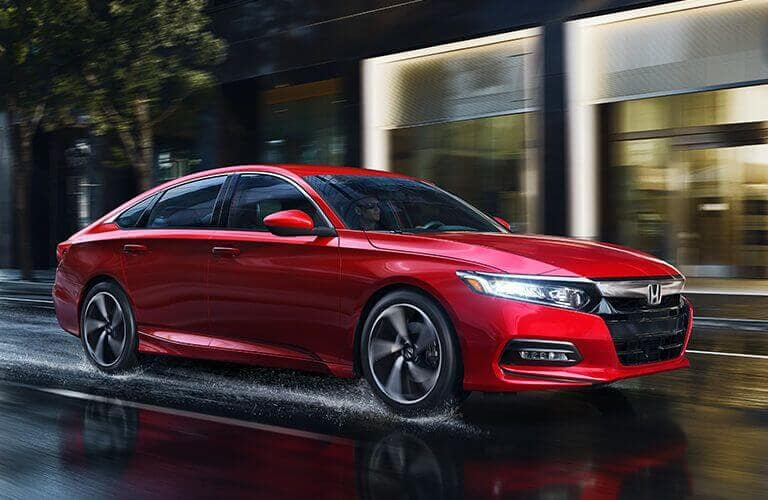 2018 Accord Sedan Model Trim Comparison