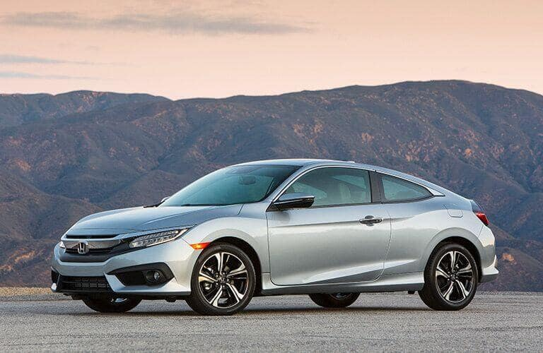 2018 Civic Coupe Model Trim Comparison
