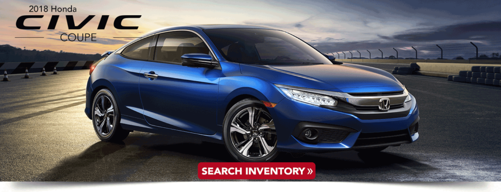 2018 Civic Coupe Research banner