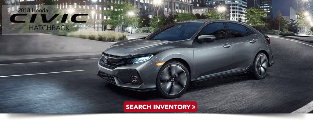 2018 Civic Hatchback research banner