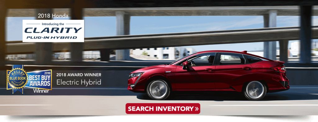 2018 Honda Clarity Research banner