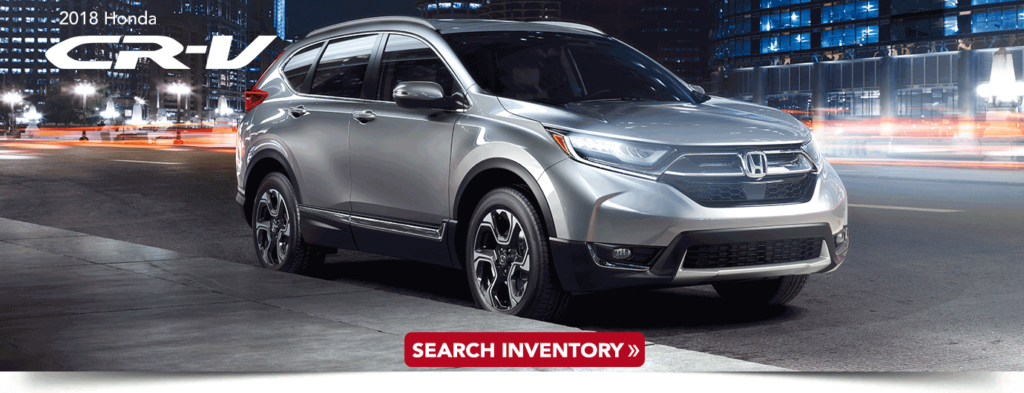 2018 Honda CR-V research banner