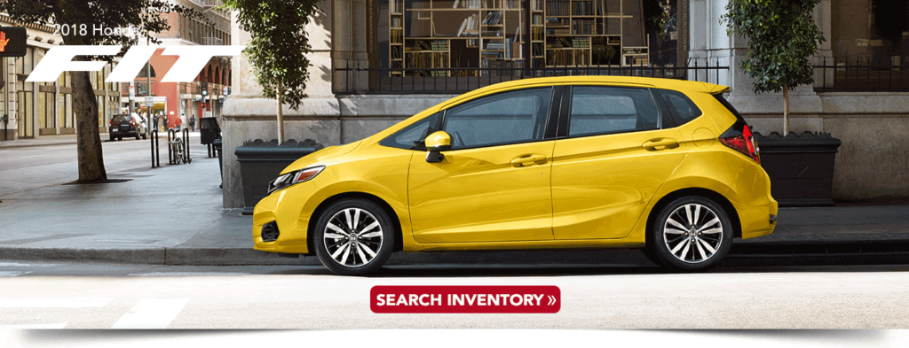 2018 Honda Fit research banner