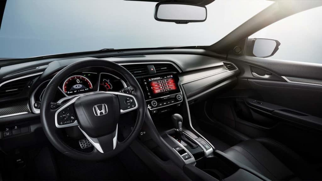 2018 Civic Hatch interior