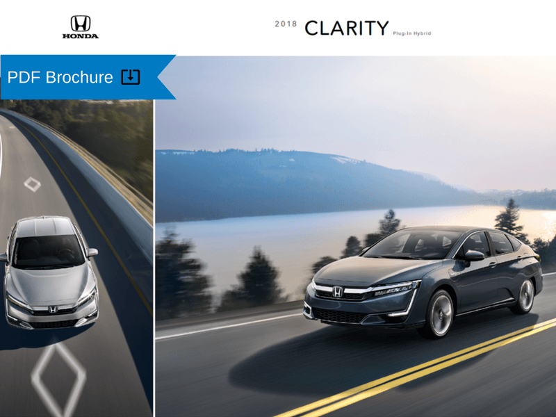 2018 Honda Clarity Plug-In Hybrid Brochure img