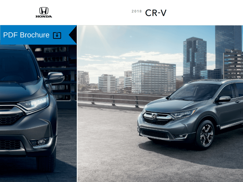 2018 Honda CR-V Brochure img