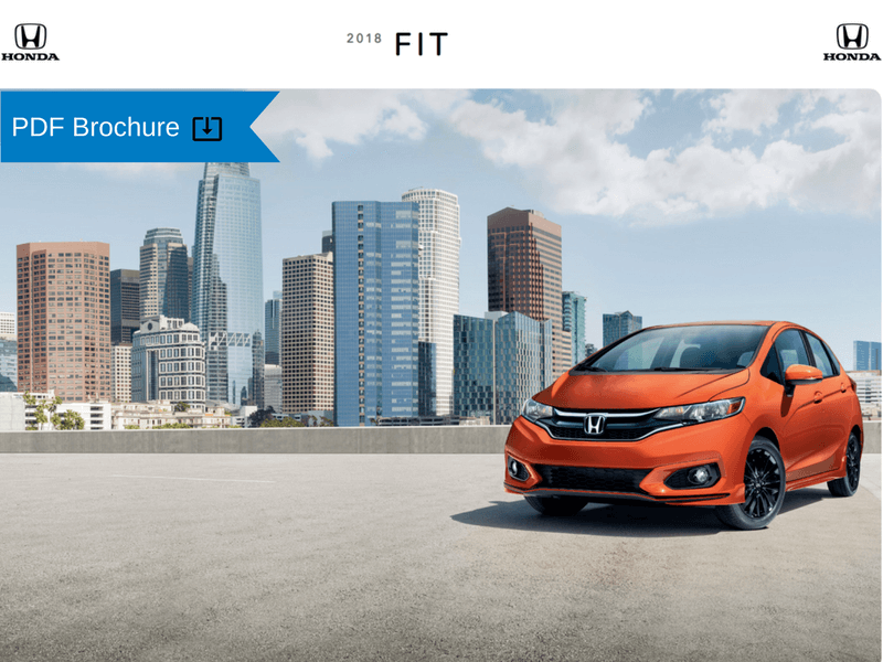 2018 Honda Fit Brochure img