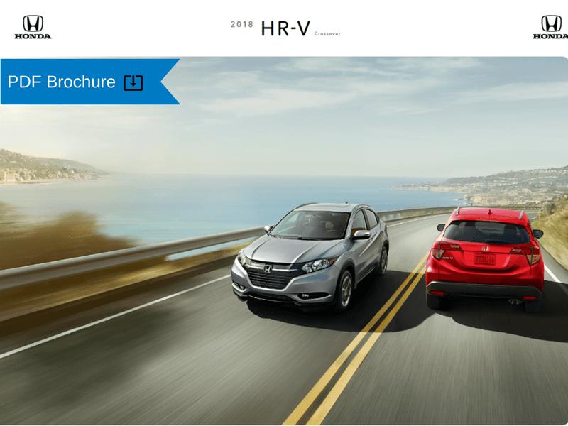 2018 Honda HR-V Brochure img