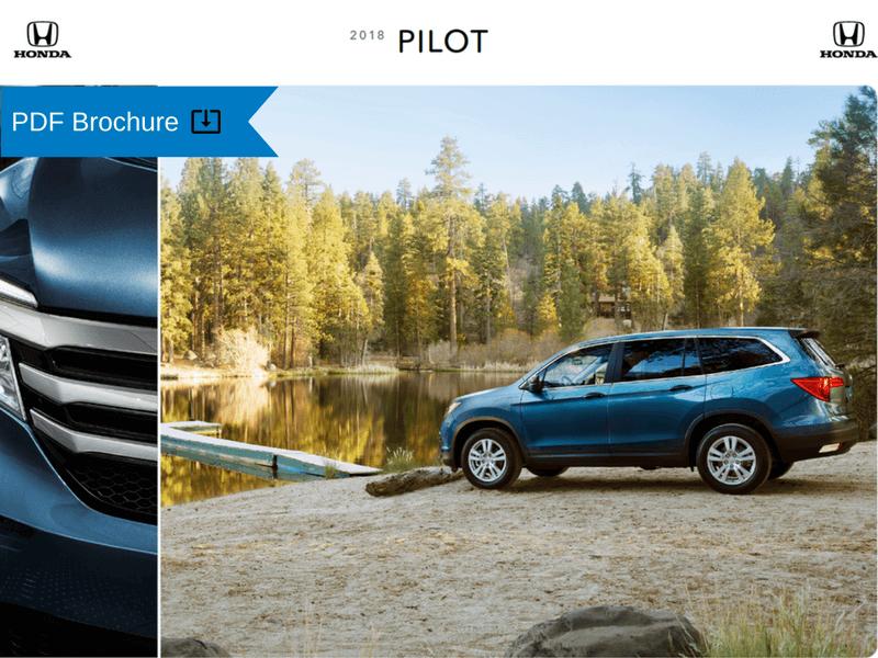 2018 Honda Pilot Brochure img
