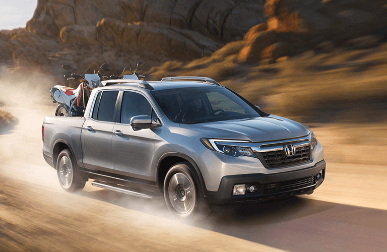 2018 Ridgeline Model Trim Comparison