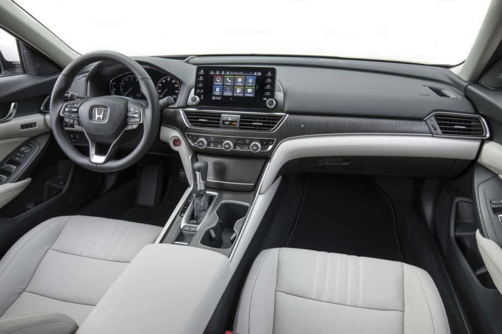 2018 Accord Sedan interior