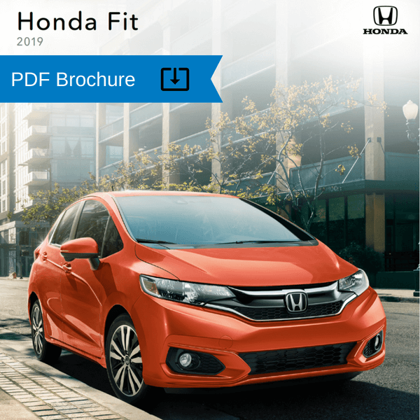 2019 Honda Fit Brochure