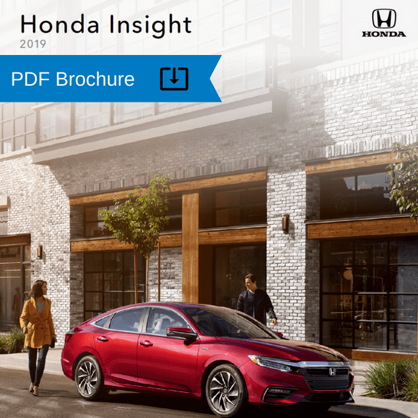 2019 Honda Insight Brochure