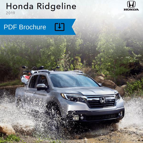 2019 Honda Ridgeline brochure
