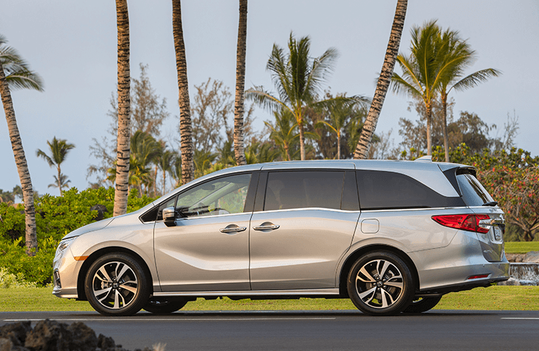 2019 Honda Odyssey Trim comparison