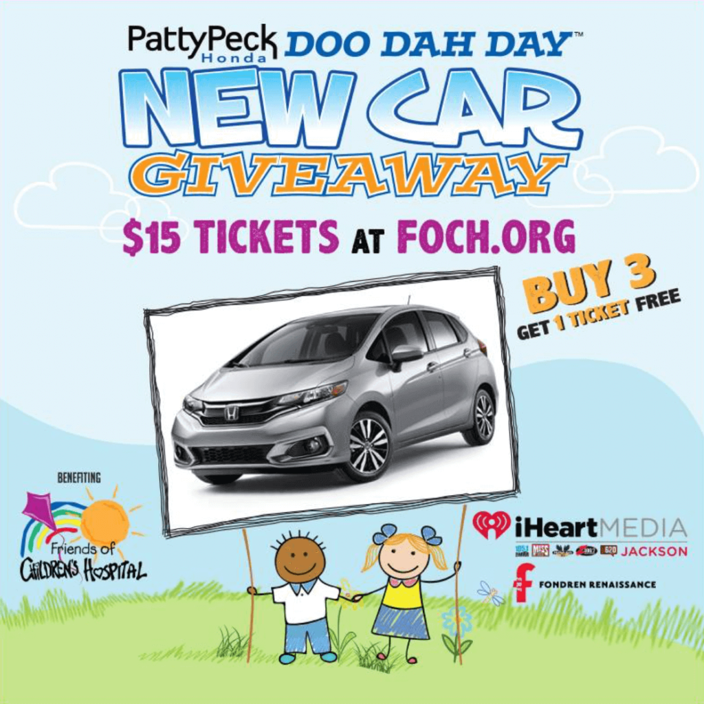 Patty Peck Honda Doo Dah Day New Car Giveaway