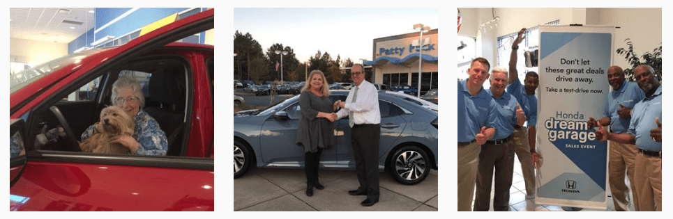 Happy Customers Patty Peck Honda