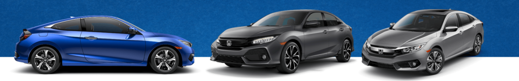 Honda Civic Lease and Finance specials banner