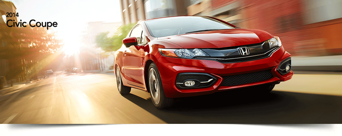 Used 2014 Honda Civic Coupe Banner